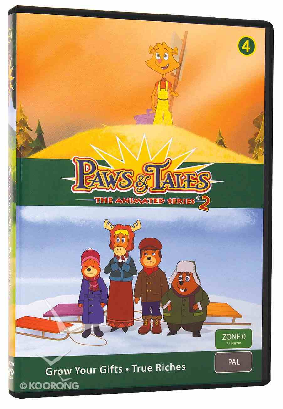 Series 2 #04 (Episodes 21,22) (#2.4 in Paws & Tales Series) DVD