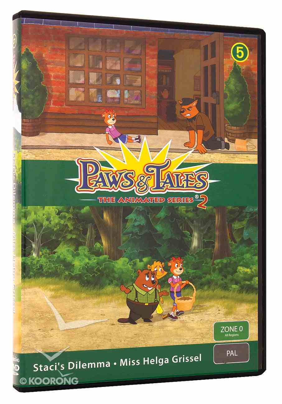 Series 2 #05 (Episodes 23,24) (#2.5 in Paws & Tales Series) DVD