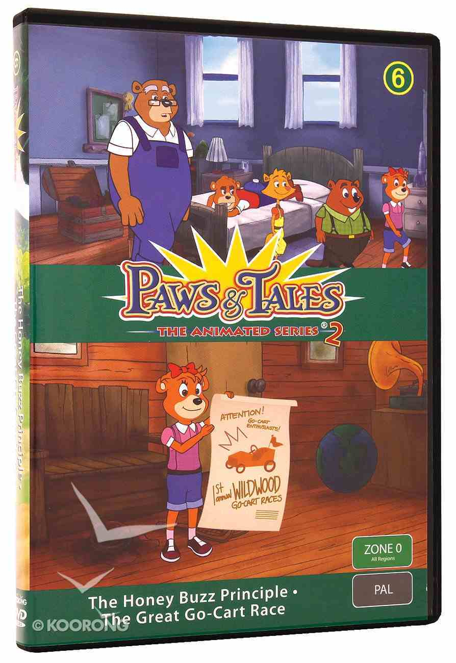 Series 2 #06 (Episodes 25,26) (#2.6 in Paws & Tales Series) DVD