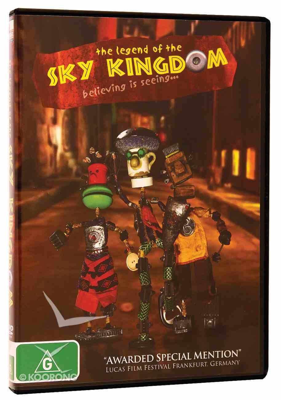 The Legend of Sky Kingdom DVD