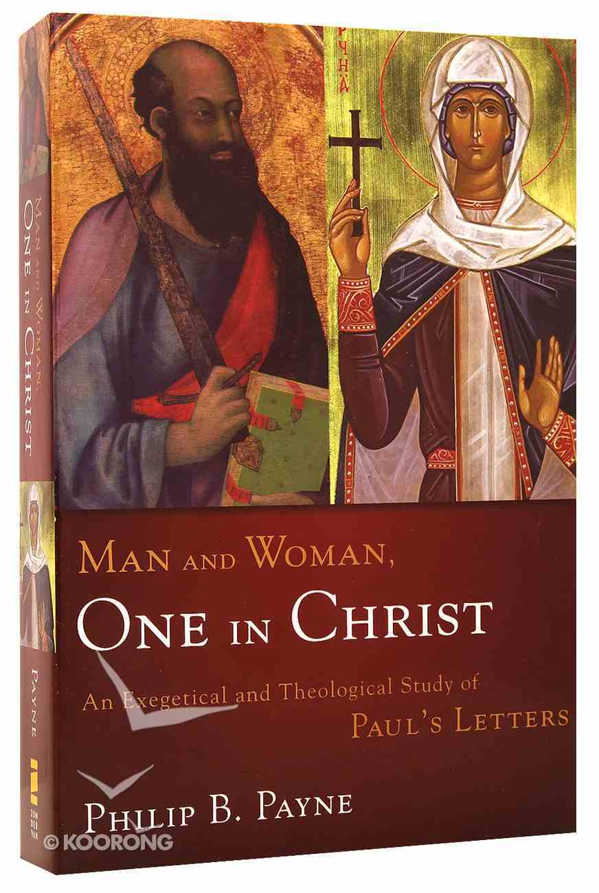 Man and Woman: One in Christ Paperback