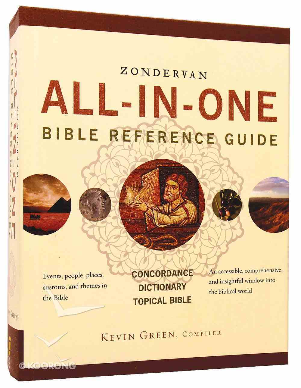 Zondervan All-In-One Bible Reference Guide Hardback