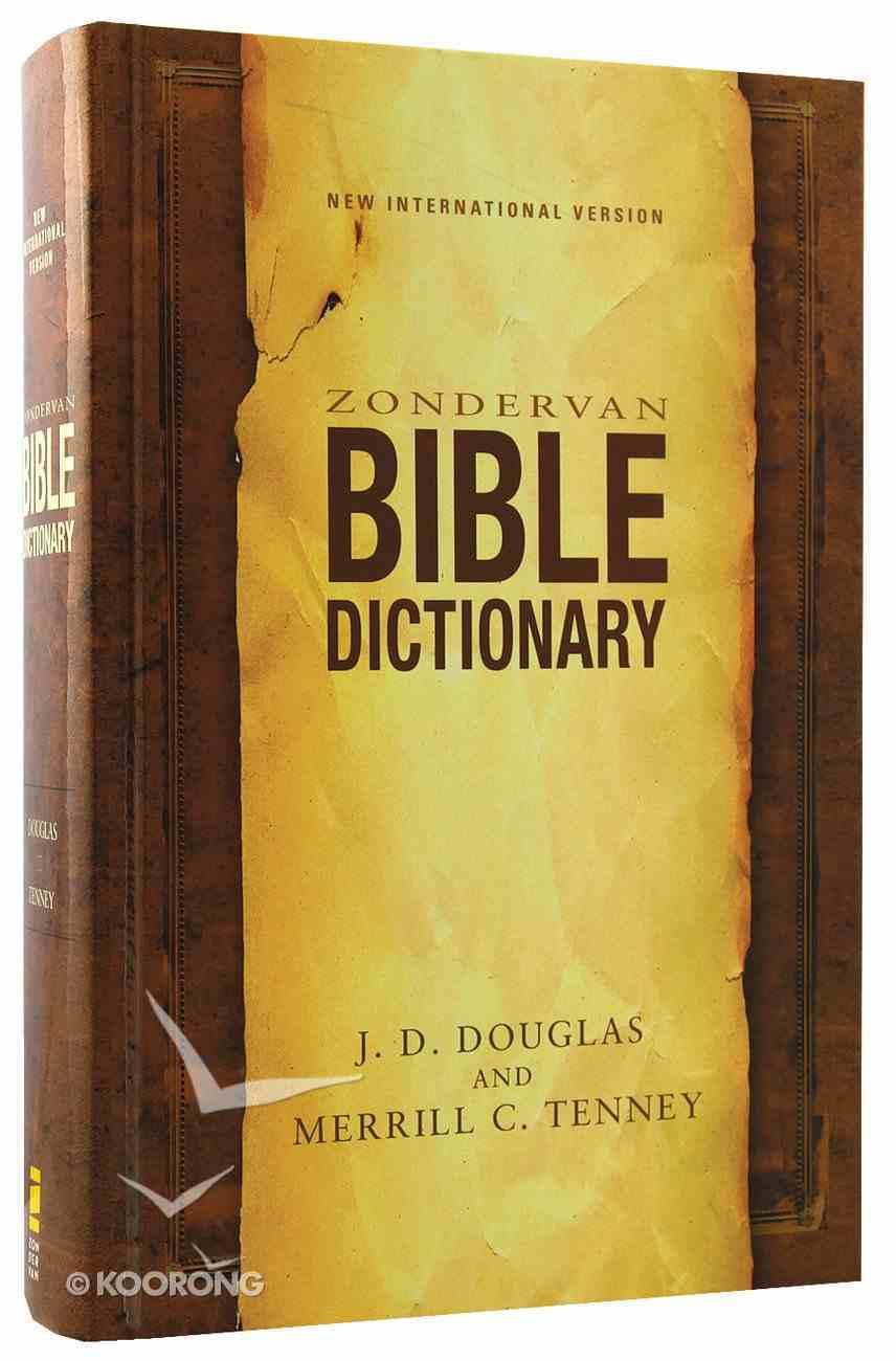 Zondervan Bible Dictionary (Niv) Hardback
