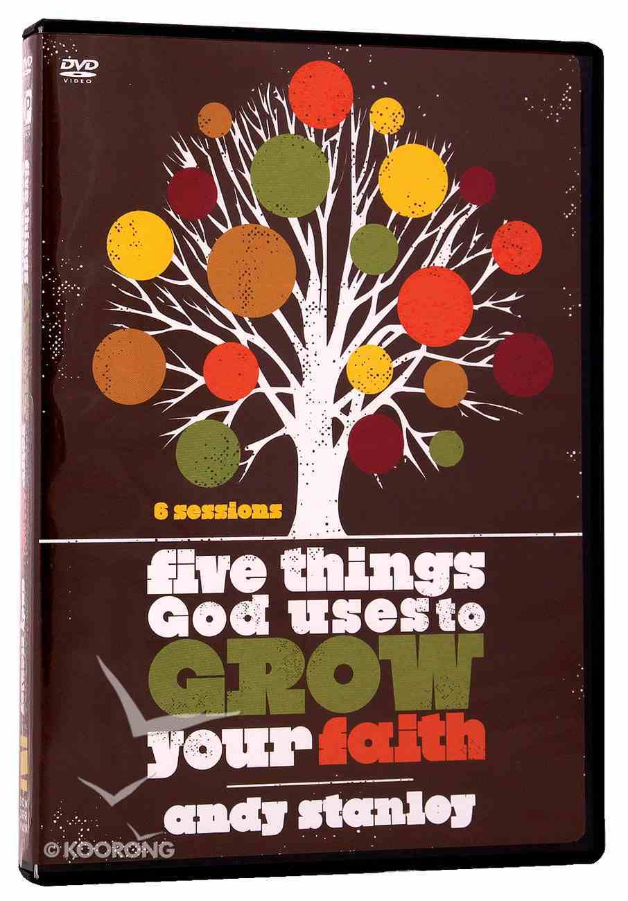 Five Things God Uses to Grow Your Faith (Dvd) DVD