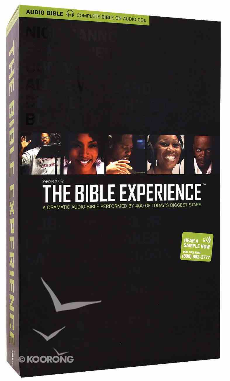 Inspired By... the Bible Experience Complete Audio CD (Unabridged 89 Hrs) CD