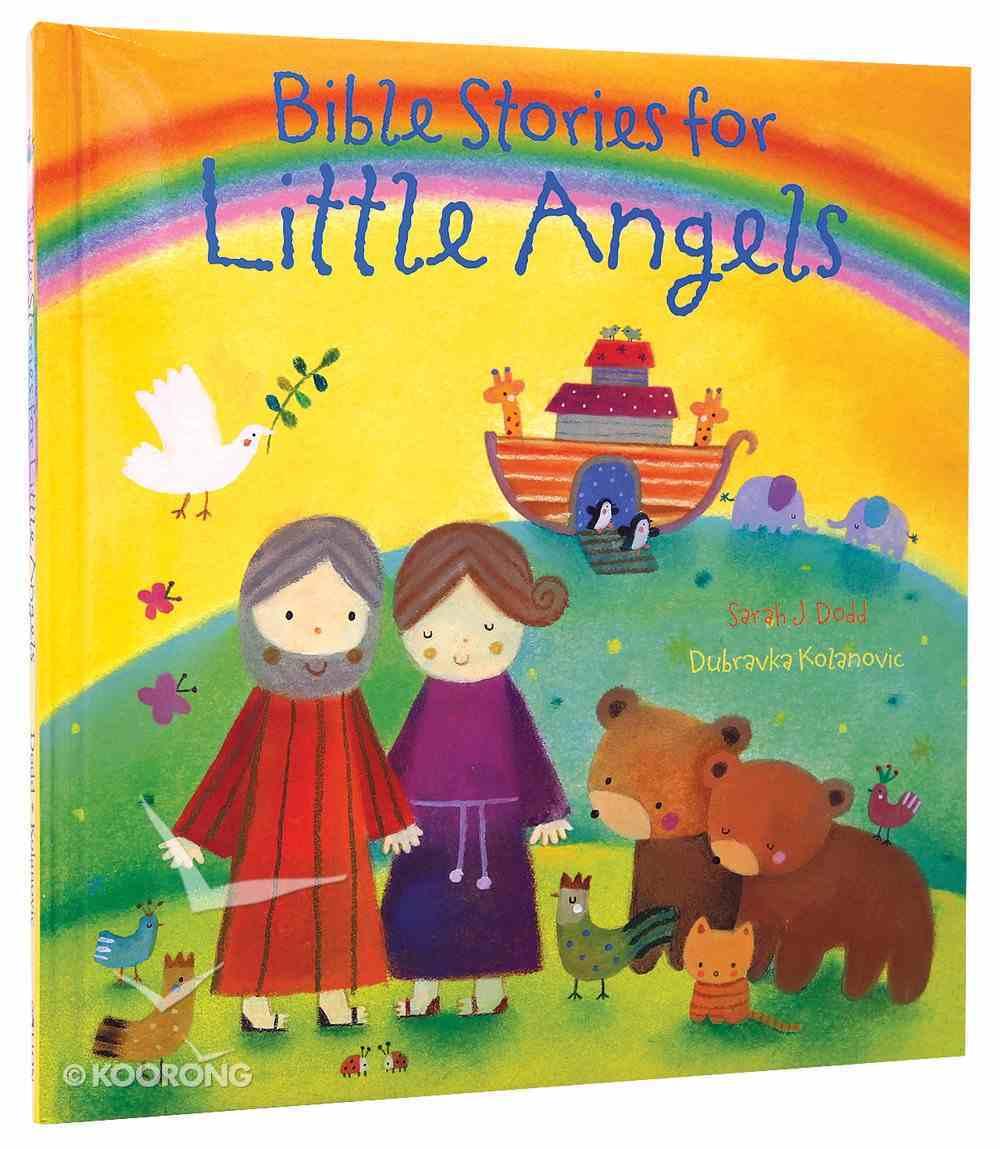 Bible Stories For Little Angels Hardback