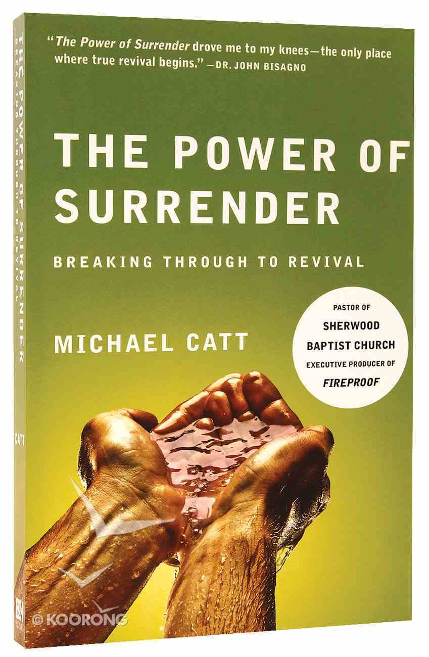 The Power of Surrender Paperback