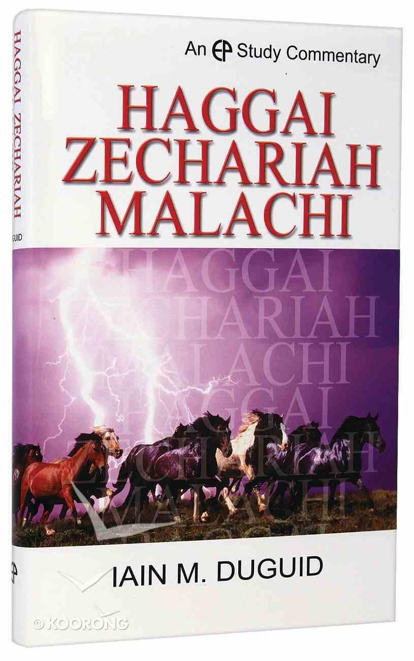Haggai, Zechariah, Malachi (Evangelical Press Study Commentary Series) Hardback