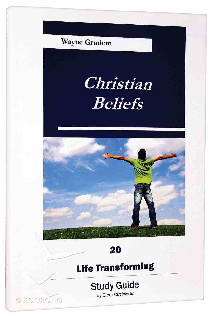 Christian Beliefs (Study Guide) Paperback
