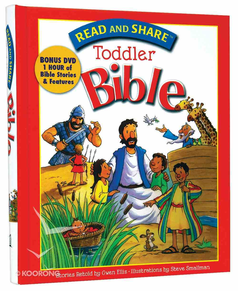 Toddler Bible (Incl DVD) (Read And Share Series) Hardback