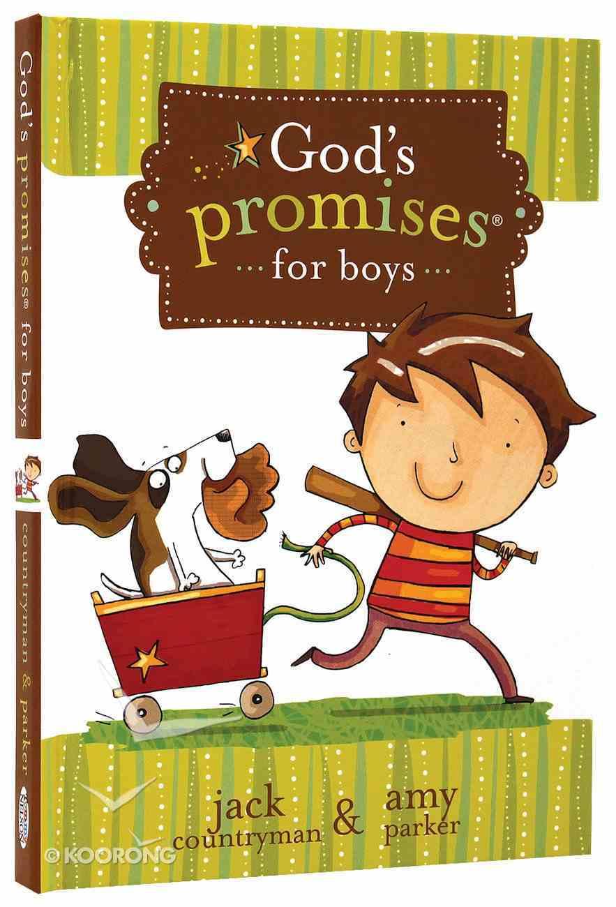 God's Promises For Boys Hardback