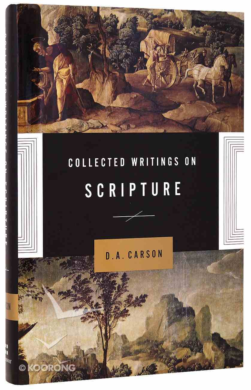 Collected Writings on Scripture Hardback
