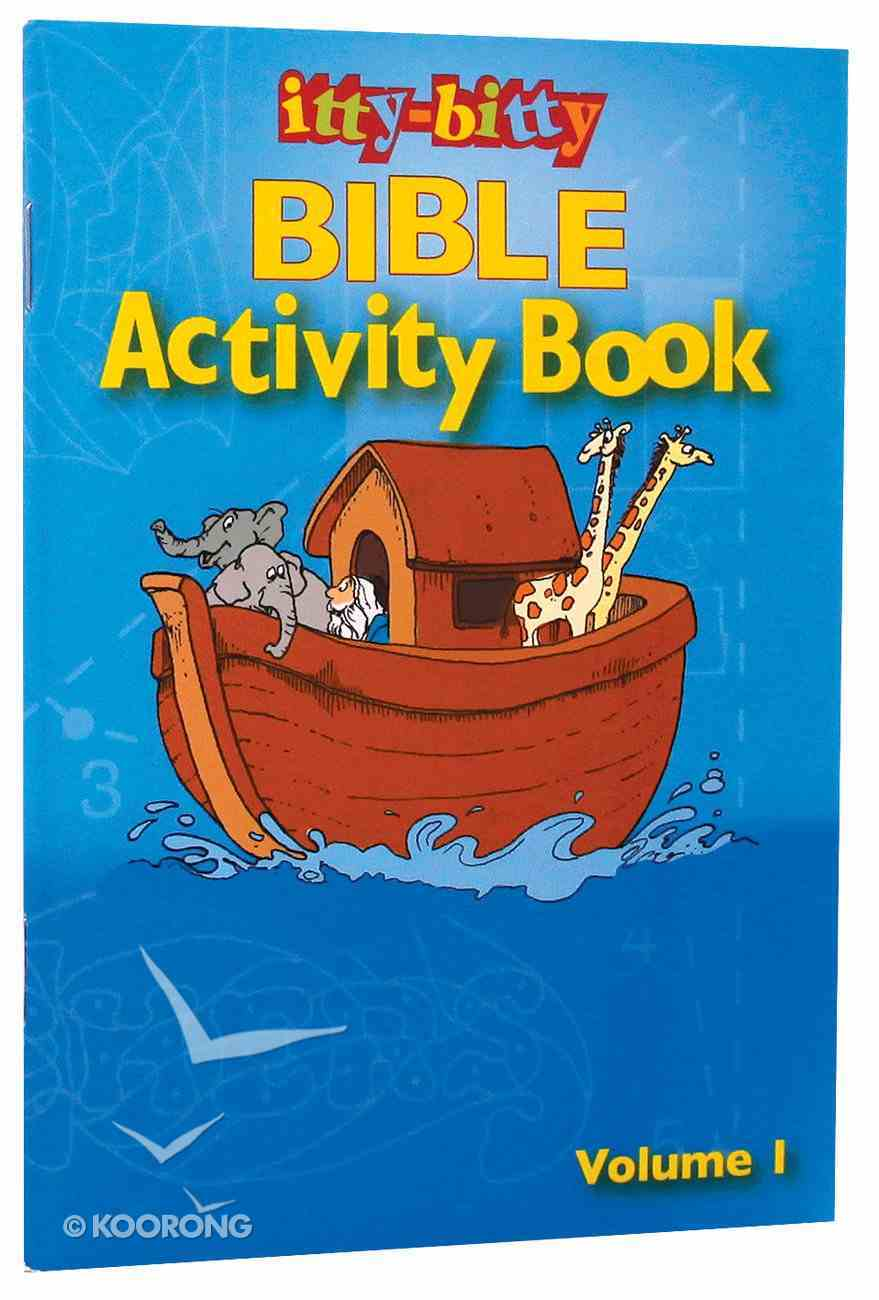 Activity Book (Volume 1) (#01 in Itty Bitty Bible Series) Paperback