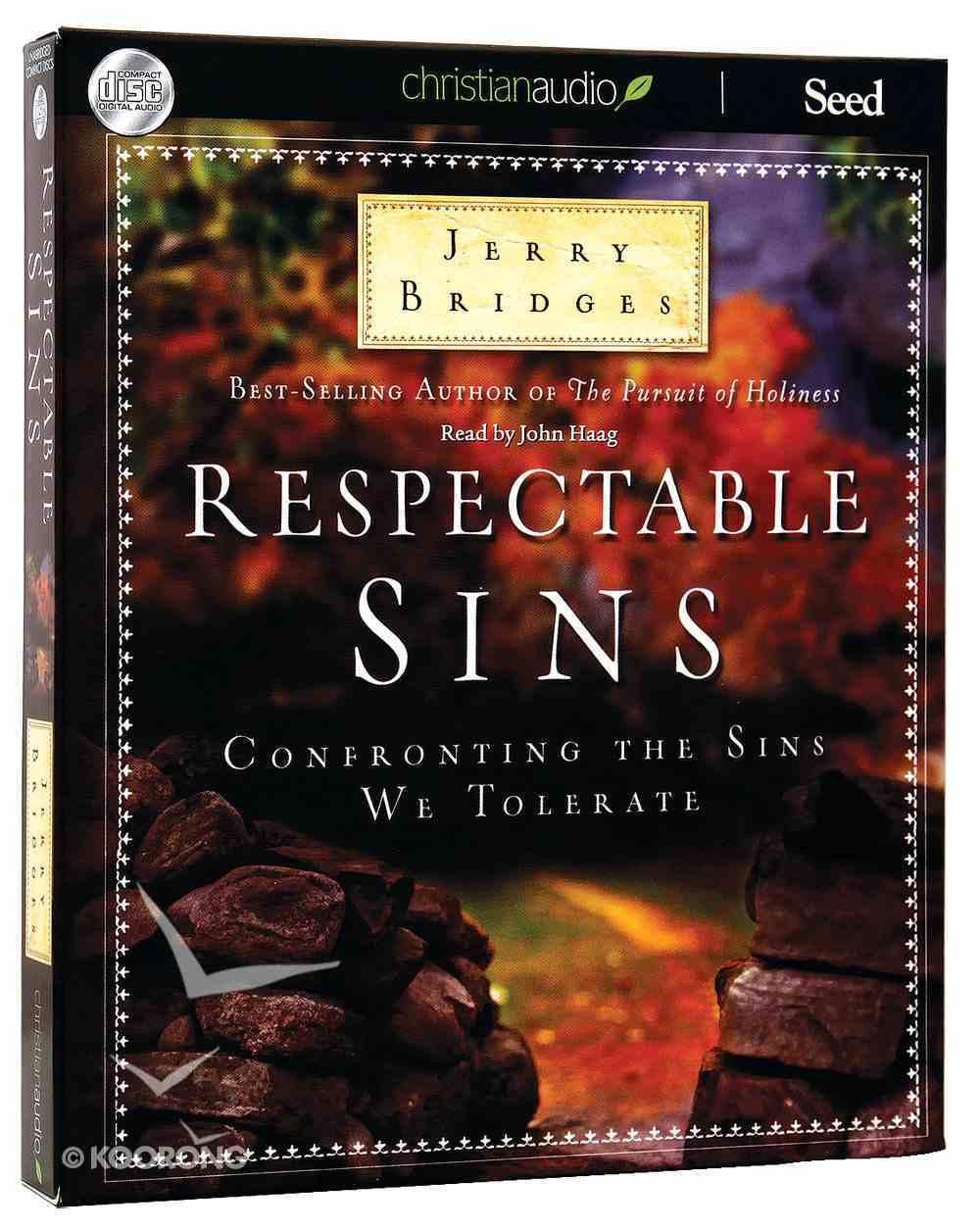Respectable Sins (Unabridged, 5 Cds) CD