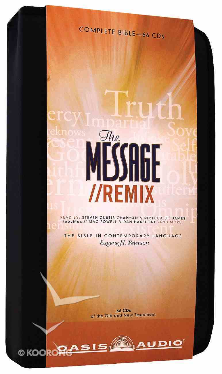 Message//Remix Complete Bible on Audio CD With Carrying Case (66 Cds) CD