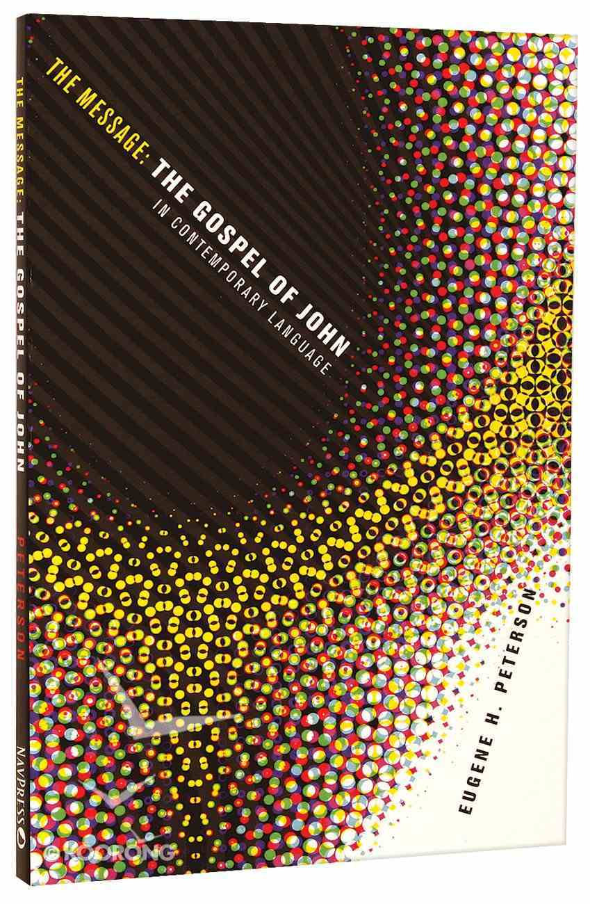 Message//Remix Gospel of John (Black Letter Edition) Paperback