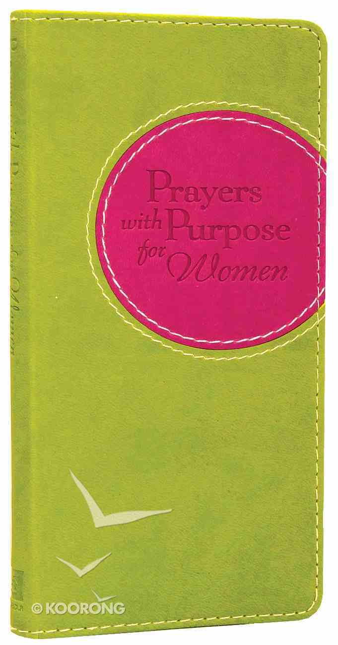 Prayers With Purpose For Women Imitation Leather