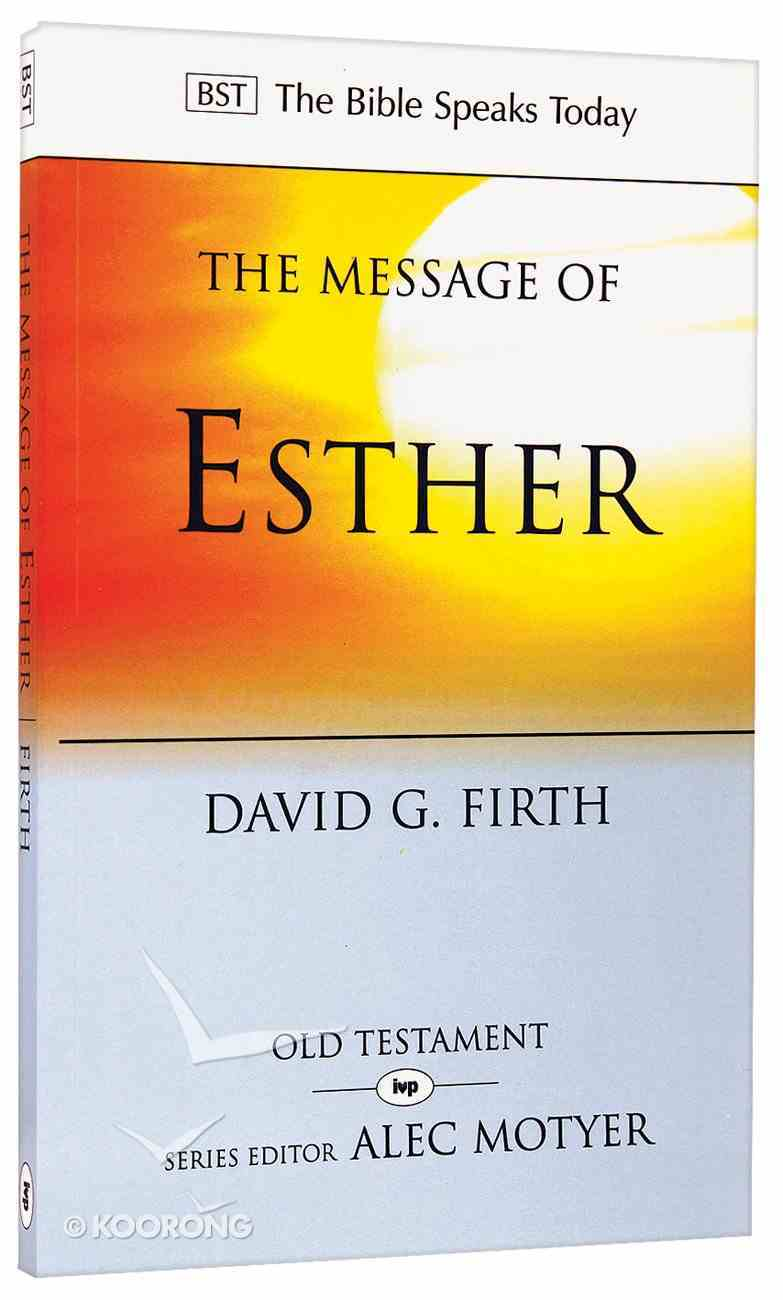 Bst: The Message of Esther PB Large Format