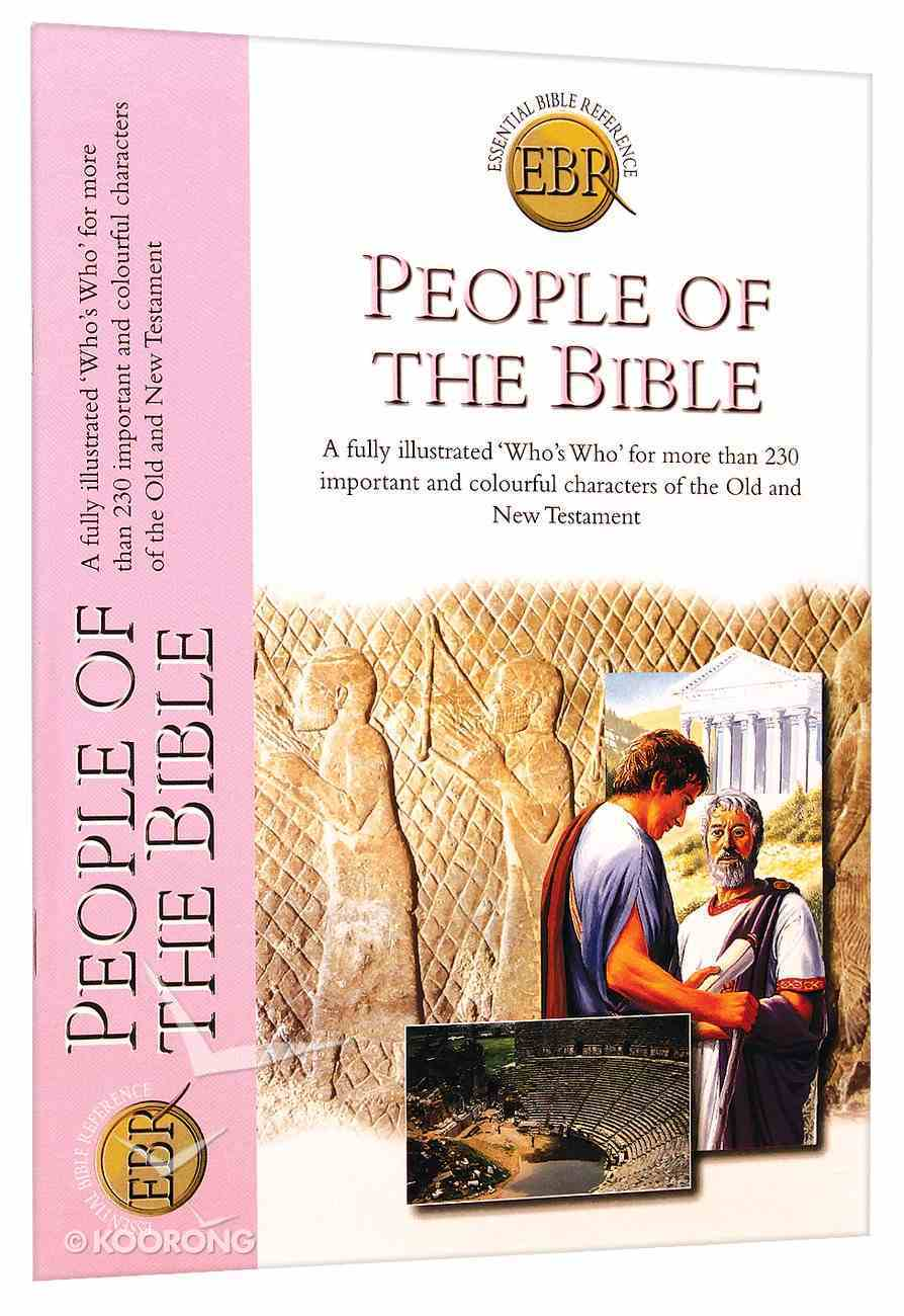 People of the Bible (Essential Bible Reference Series) Paperback