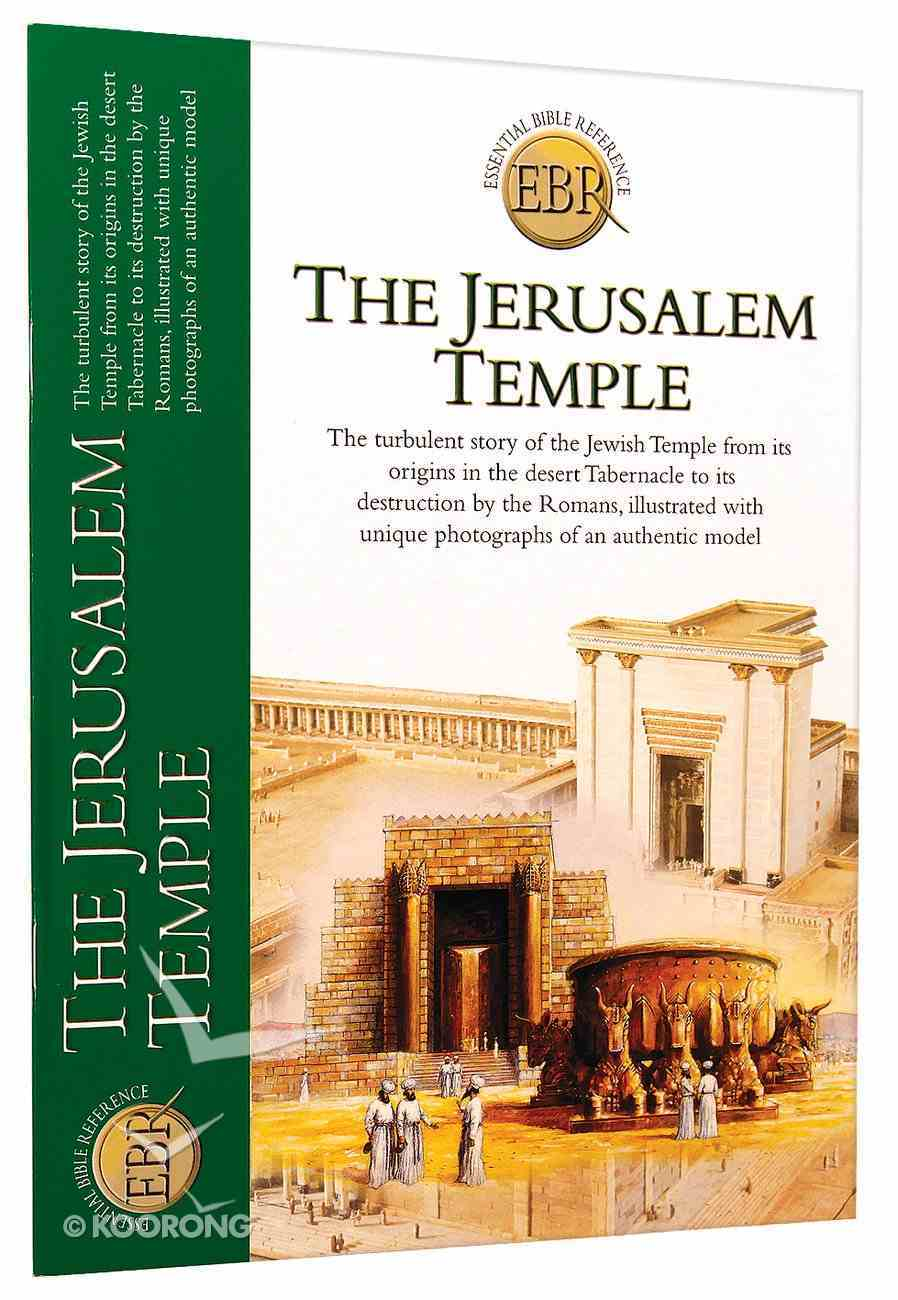 The Jerusalem Temple (Essential Bible Reference Series) Paperback