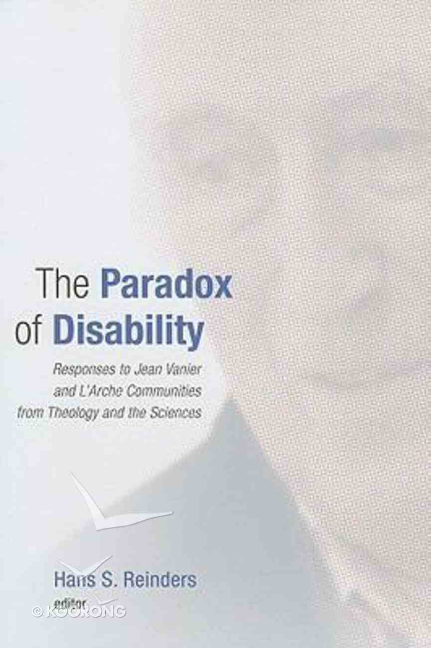 The Paradox of Disability Paperback