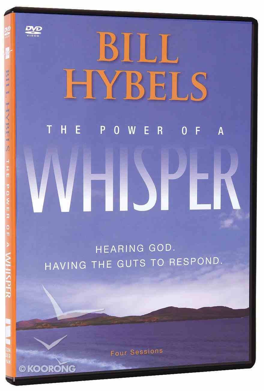 The Power of a Whisper: Hearing God, Having the Guts to Respond (Dvd) DVD