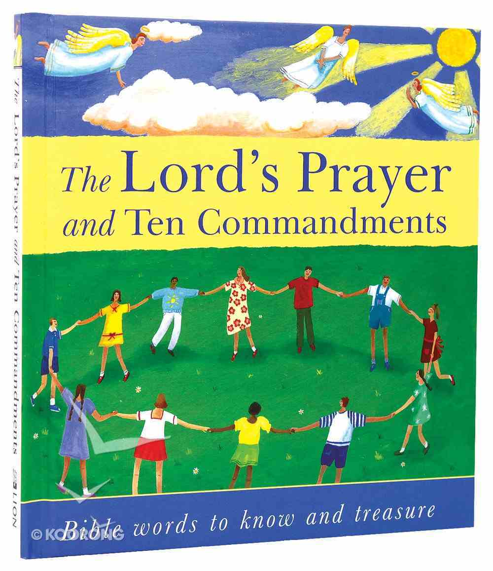 The Lord's Prayer and Ten Commandments Hardback