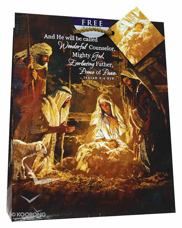 Christmas Gift Bag: Nativity (Medium) Stationery