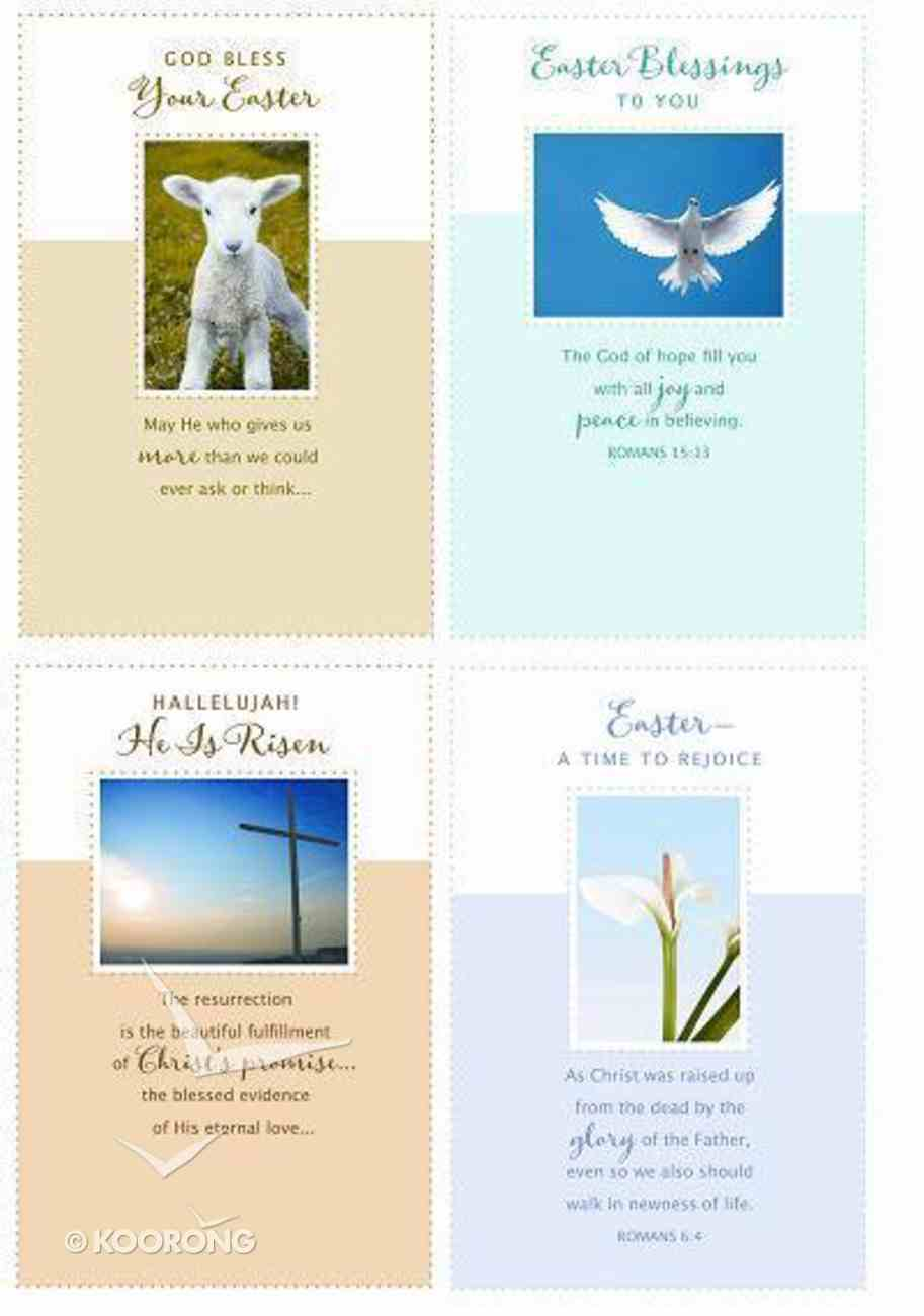 Easter Boxed Cards 2011: Dove, Lamb, Cross, Flower Cards