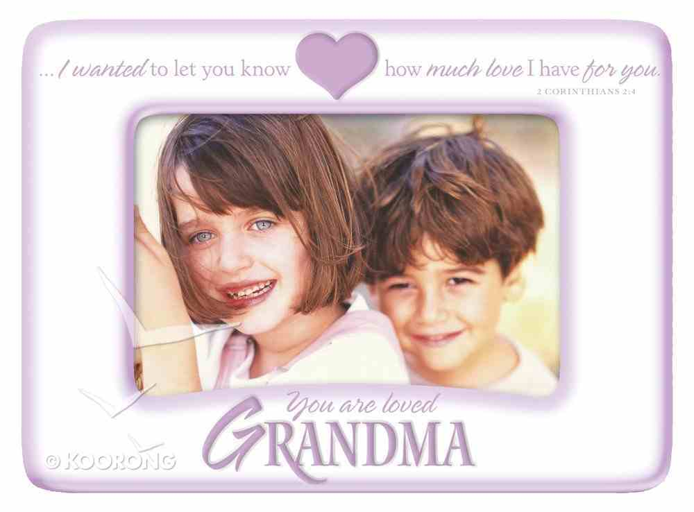 Photo Frame: Grandma You Are Loved Homeware