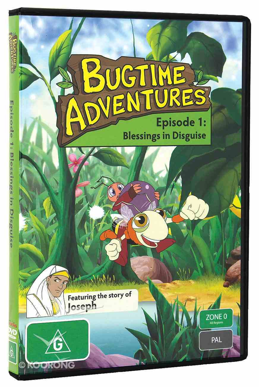 Blessings in Disguise (#01 in Bugtime Adventures Series) DVD