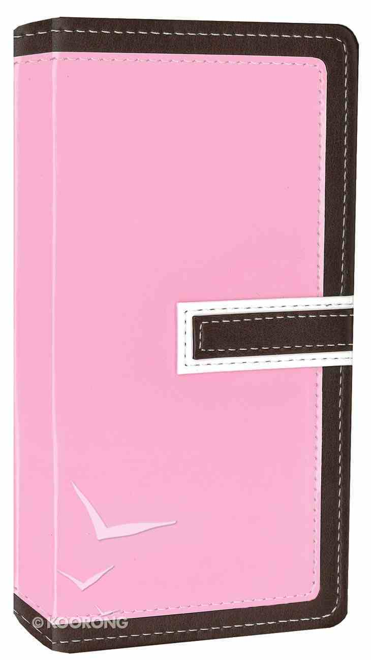 NIV Trimline Bible Chocolate Pink Duo-Tone (Red Letter Edition) Imitation Leather
