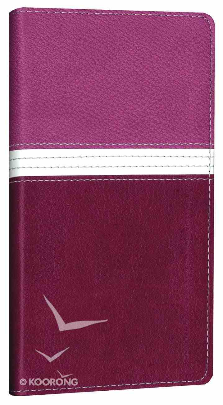 NIV Trimline Orchid Razzleberry Duo-Tone (Red Letter Edition) Imitation Leather