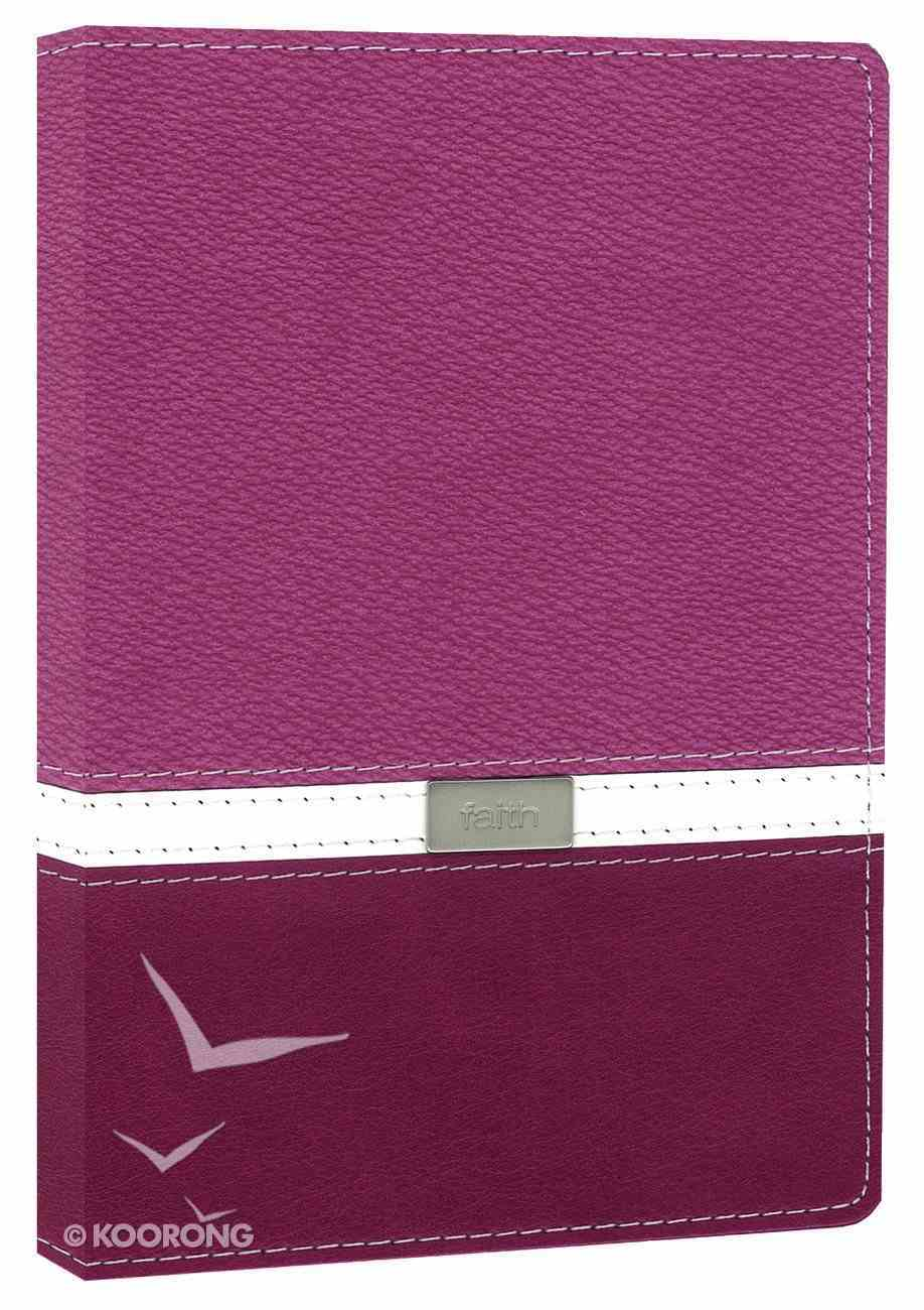 NIV Compact Thinline Bible Orchid Razzleberry Duo-Tone (Red Letter Edition) Imitation Leather