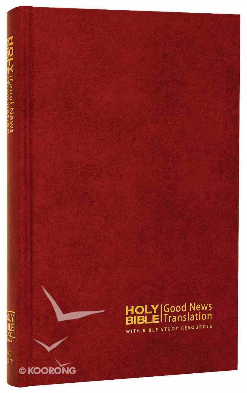 GNB Thinline Bible Red Hardback