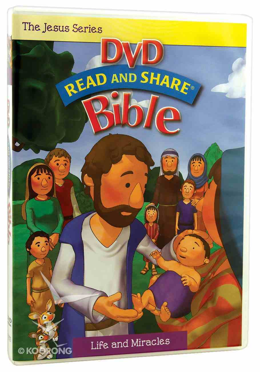 Jesus - Life and Miracles (Read And Share Dvd Series) DVD