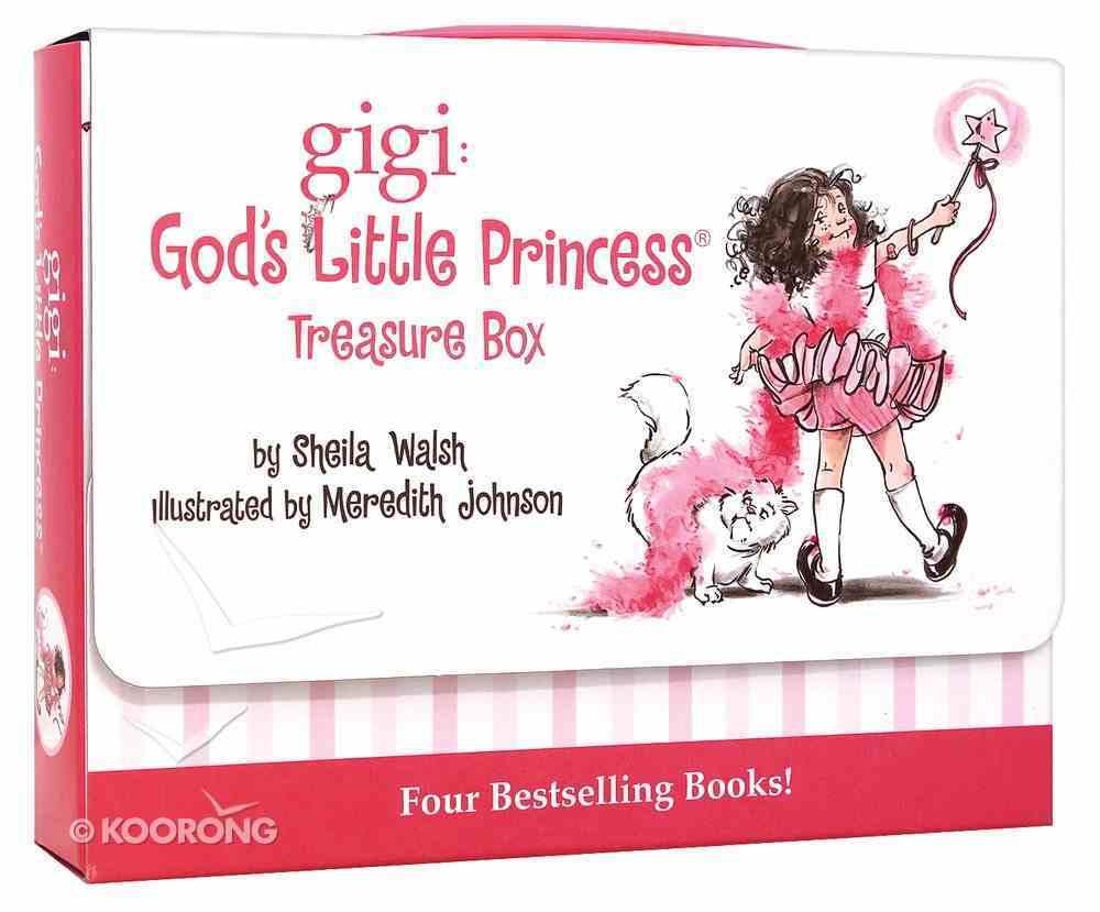 4in1 Treasure Box Set (Gigi, God's Little Princess Series) Hardback