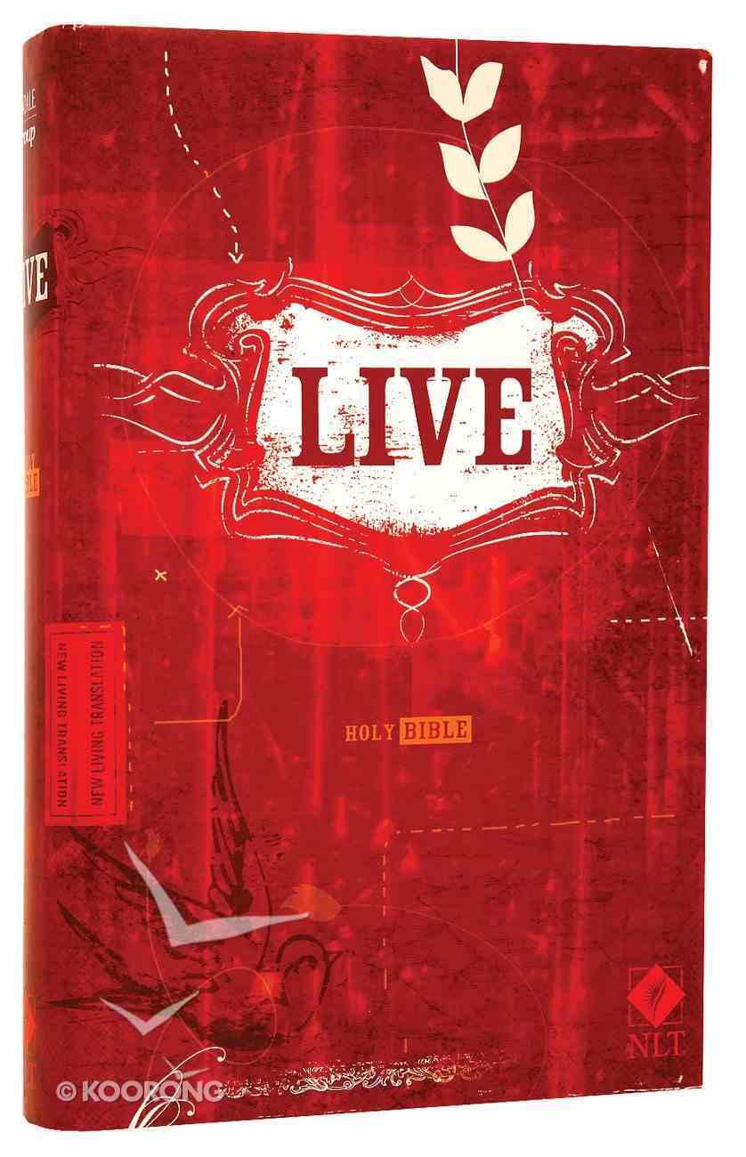 NLT Live Bible (Black Letter Edition) Hardback