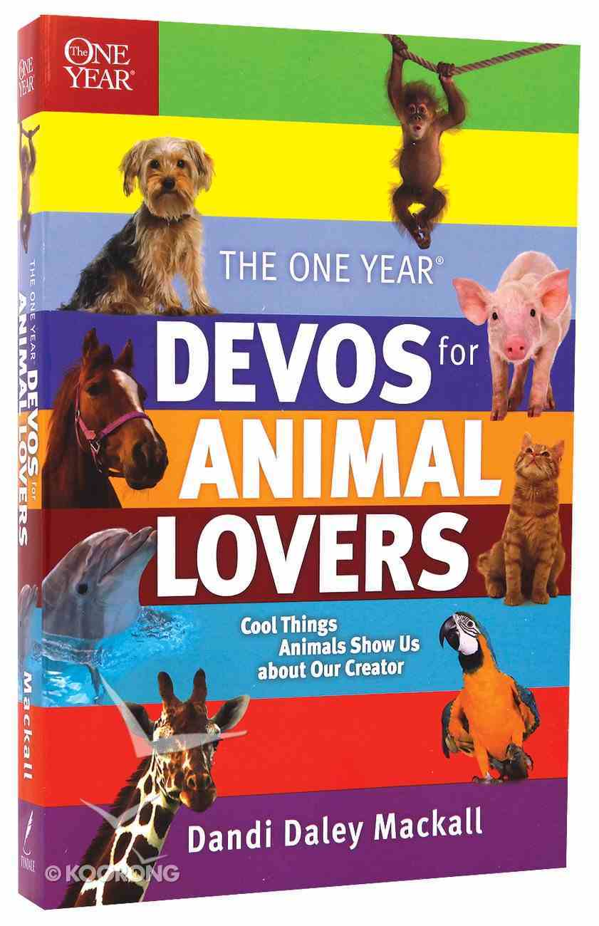 One Year: Devos For Animal Lovers Paperback
