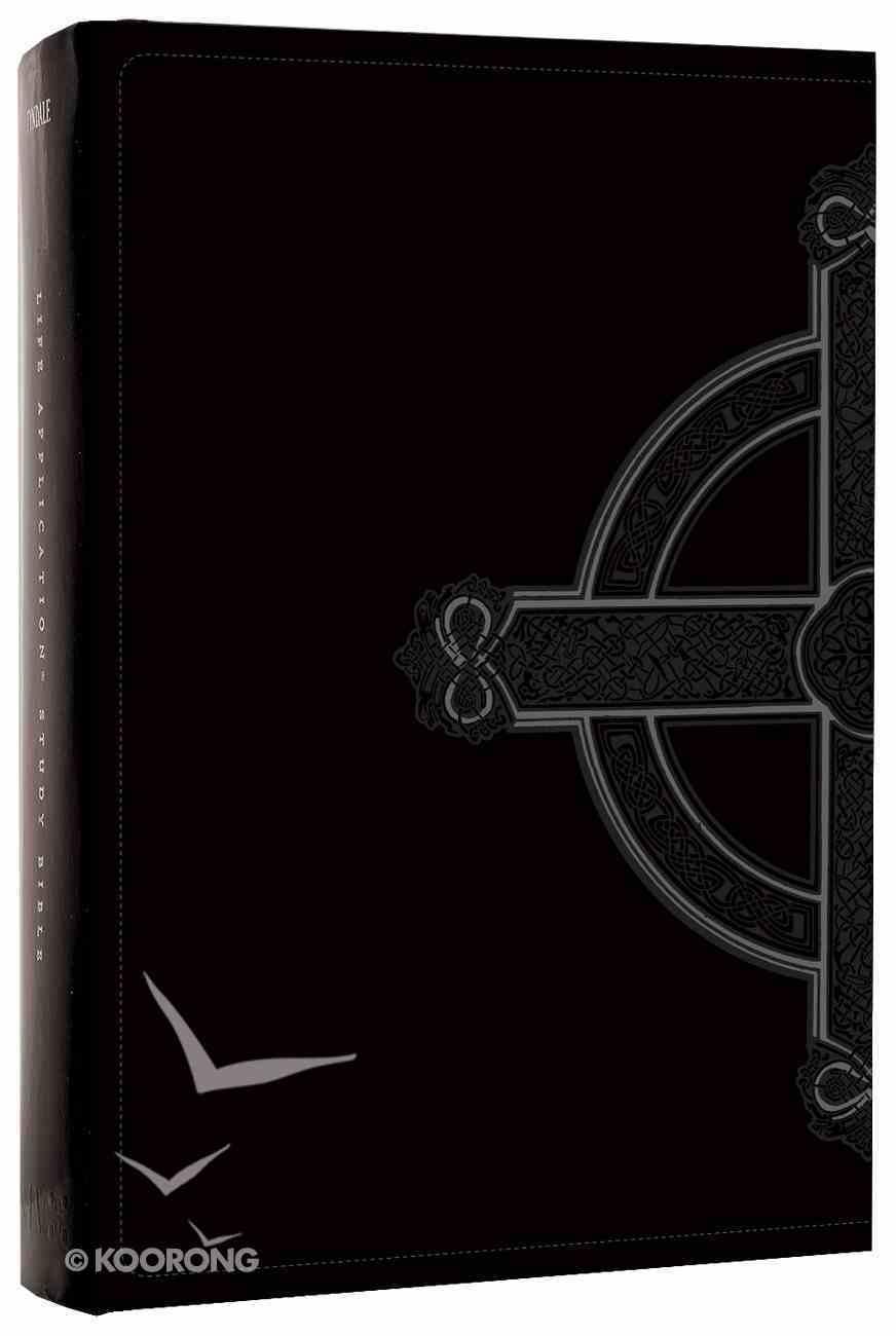 NLT Life Application Study Personal Black Celtic Cross (Black Letter Edition) Imitation Leather