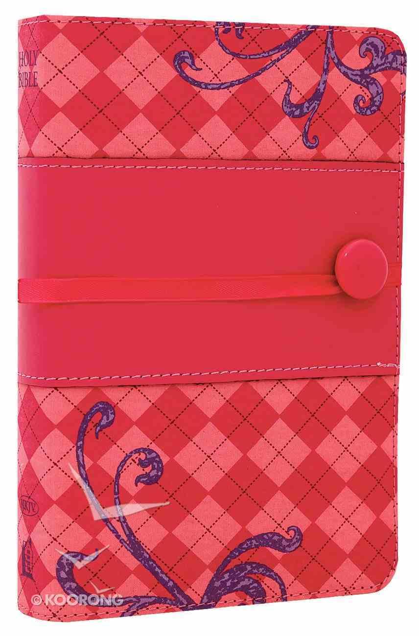 NKJV Pocket Bible Designer Series Pink Imitation Leather