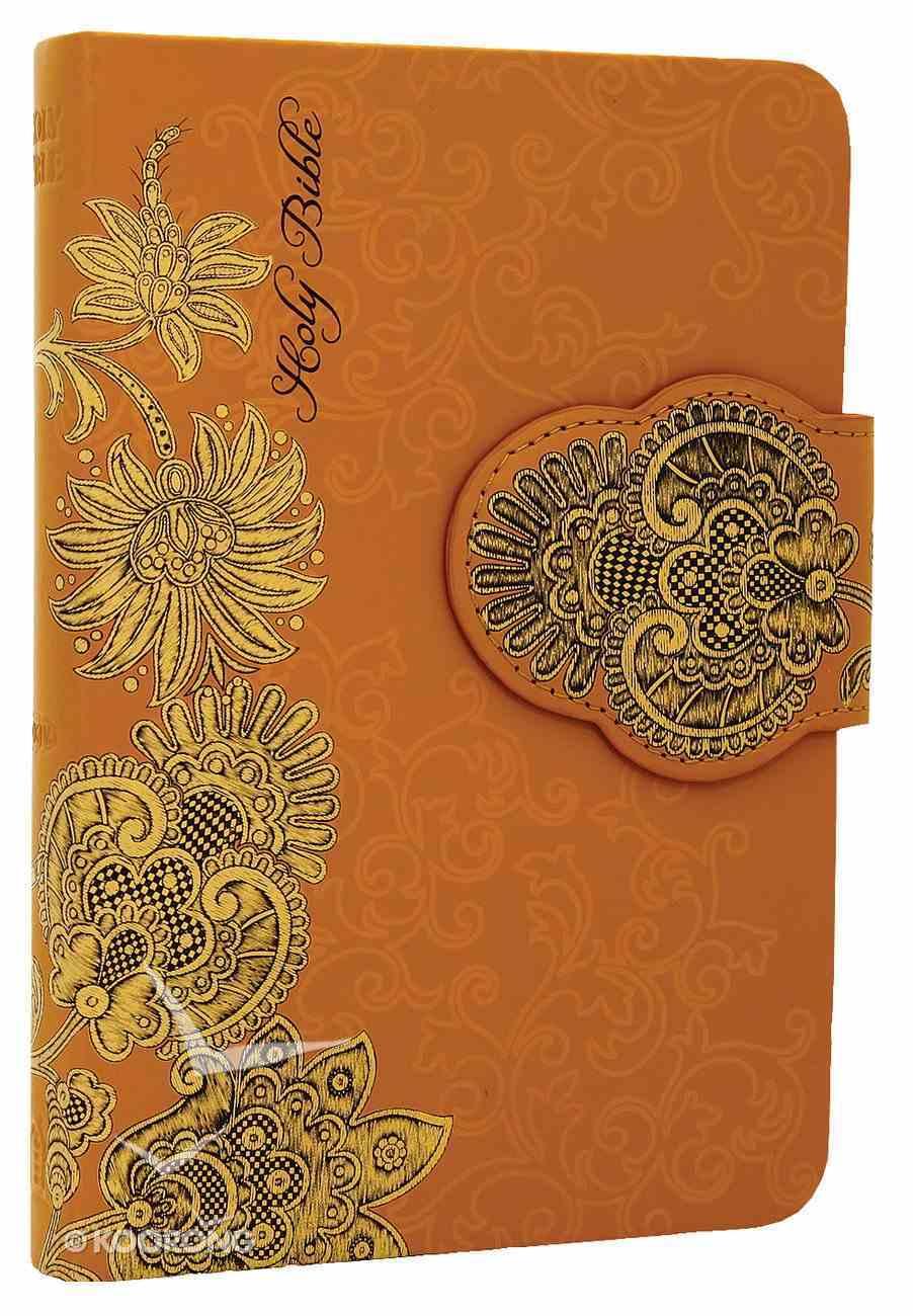 NKJV Pocket Bible Designer Series Yellow Imitation Leather