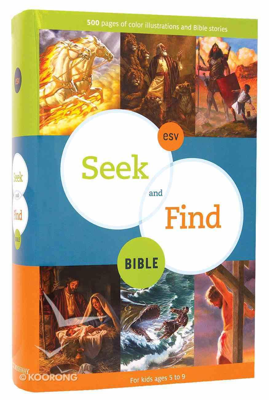 ESV Seek and Find Bible Hardback