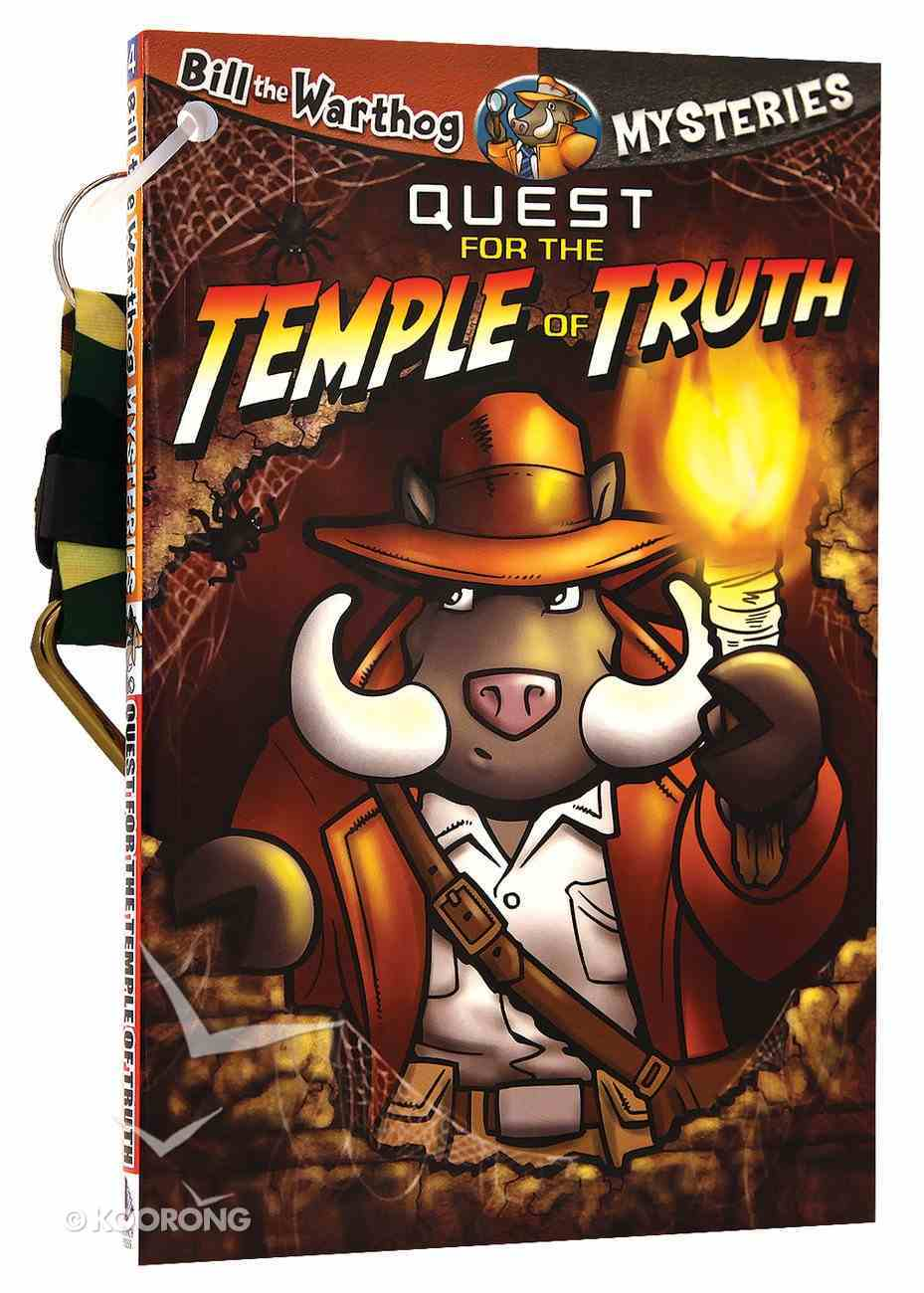 Quest For the Temple of Truth (#04 in Bill The Warthog Mysteries Series) Paperback