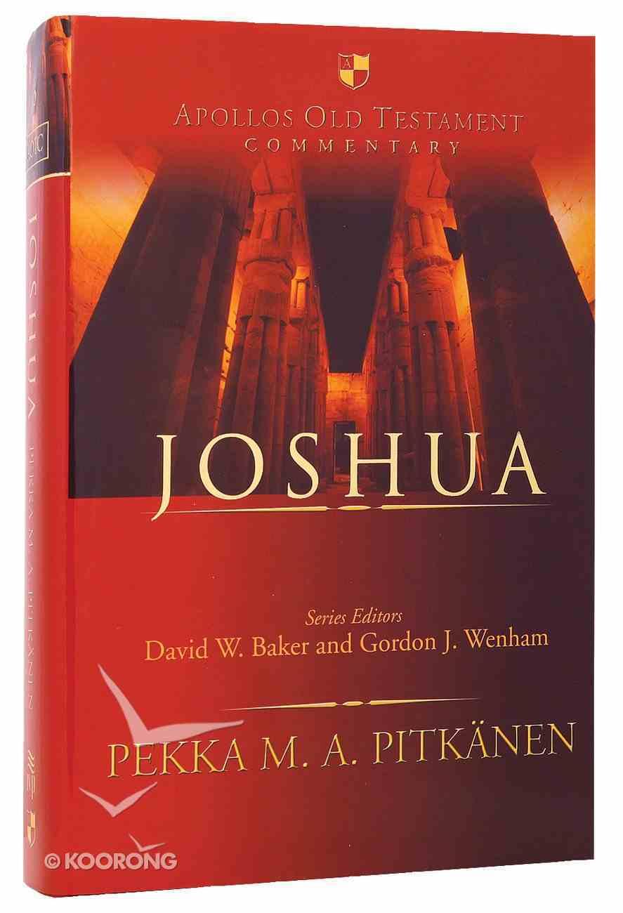 Joshua (Apollos Old Testament Commentary Series) Hardback