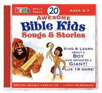 Album Image for 20 Awesome Bible Kids Songs & Stories - DISC 1