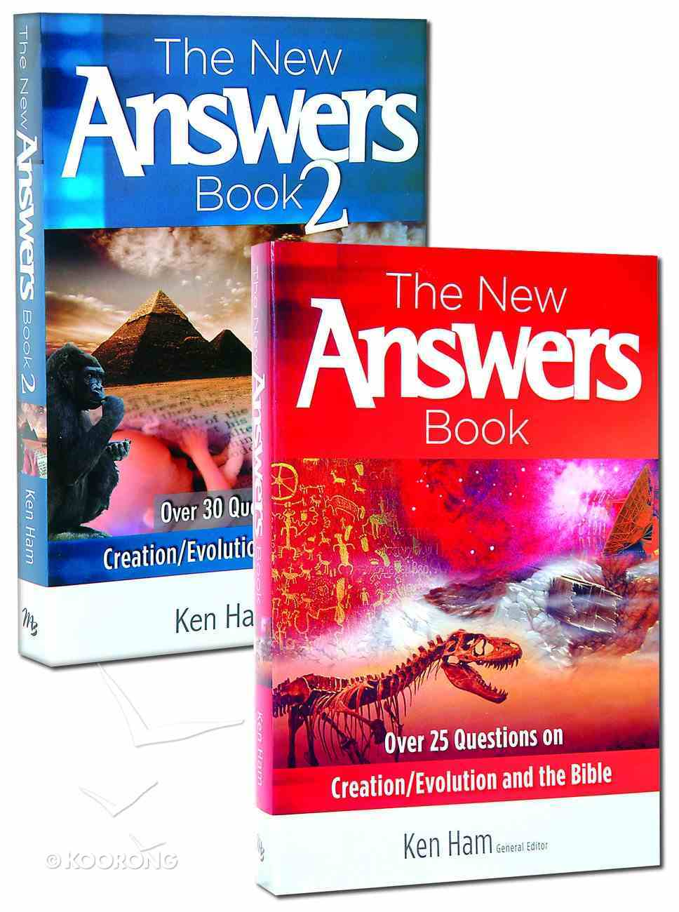 New Answers Book, the 2-Pack (2 Vols) (New Answers Book Series) Pack
