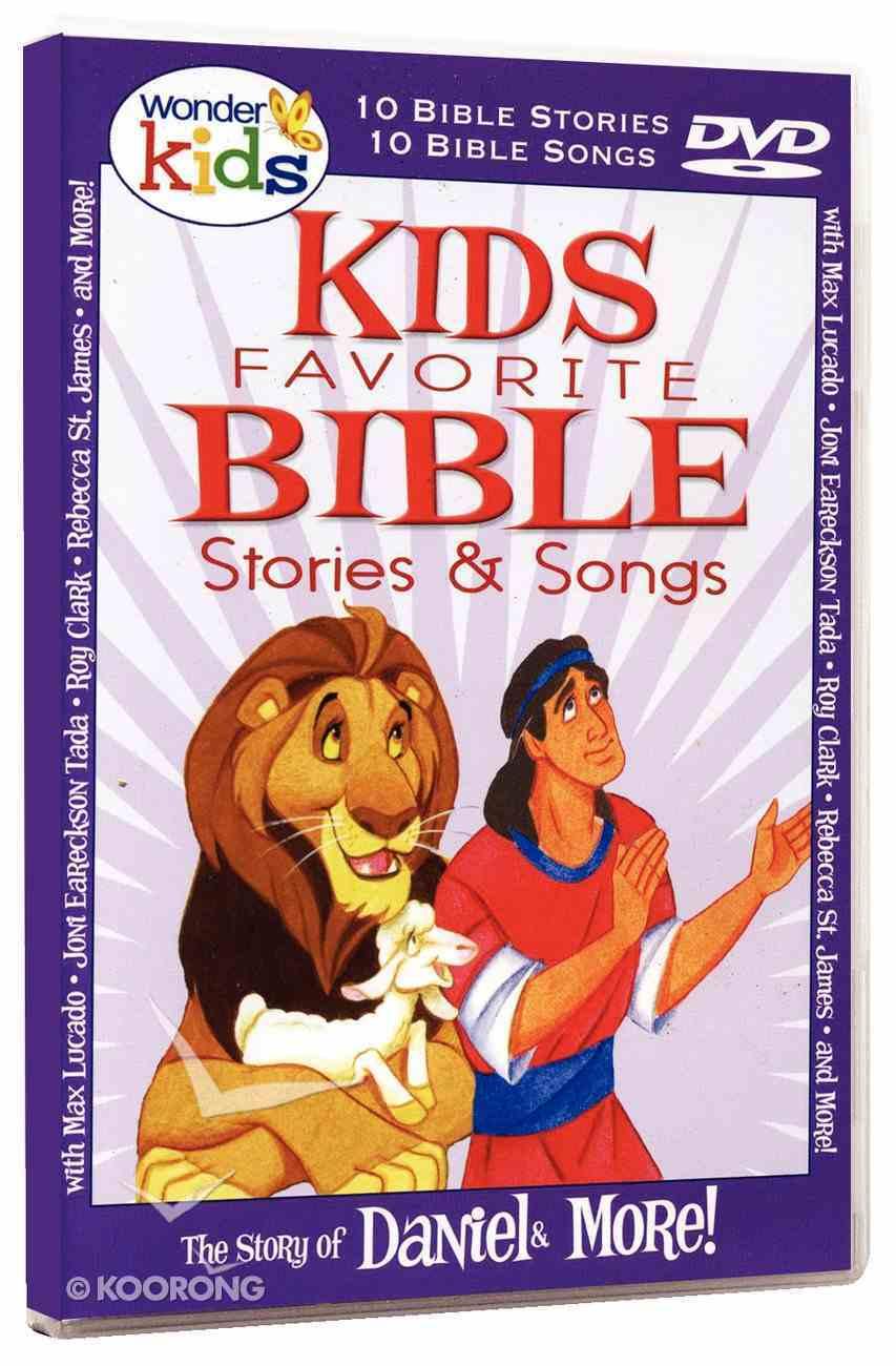 Kids' Favourite Bible Stories & Songs: Daniel DVD