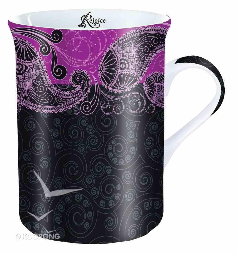 Mug and Coaster Set: Rejoice Homeware