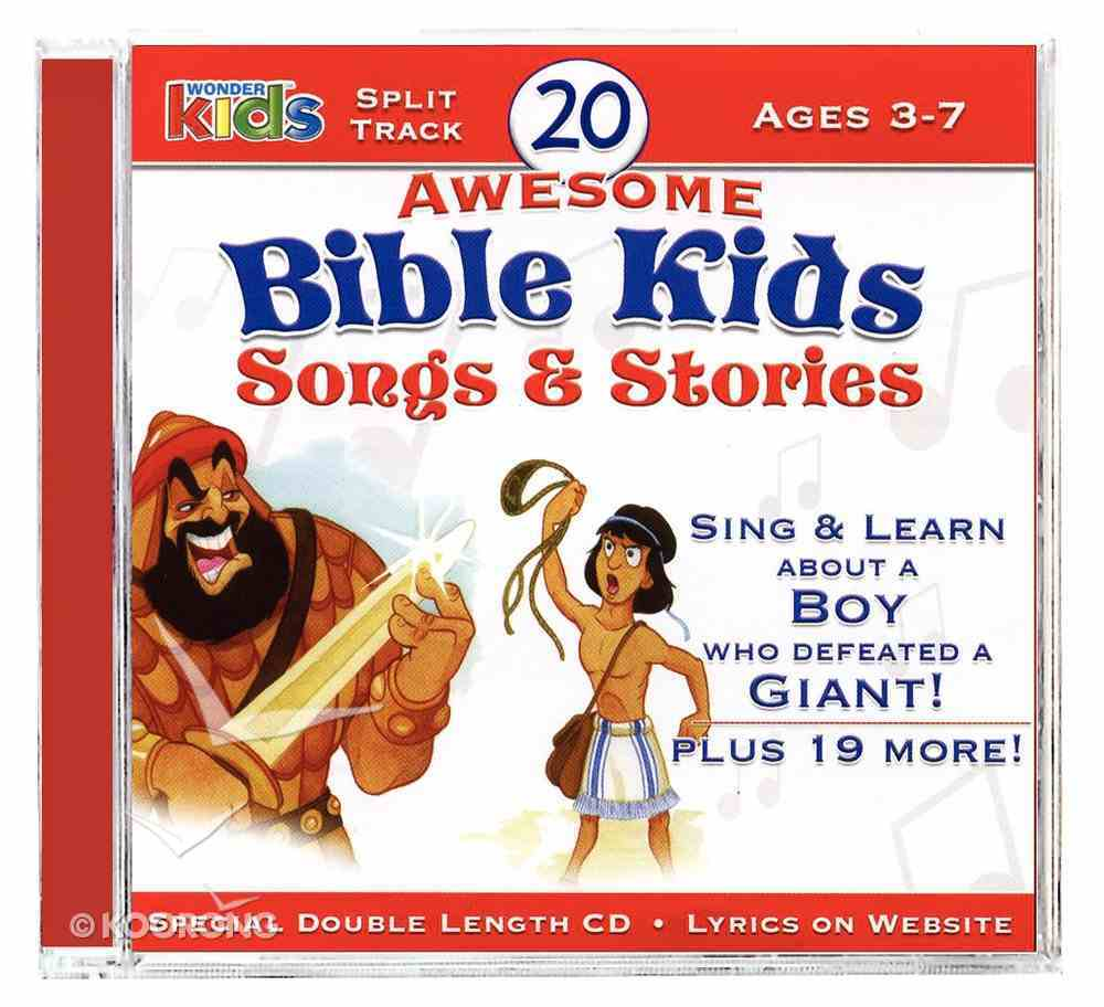 20 Awesome Bible Kids Songs & Stories CD